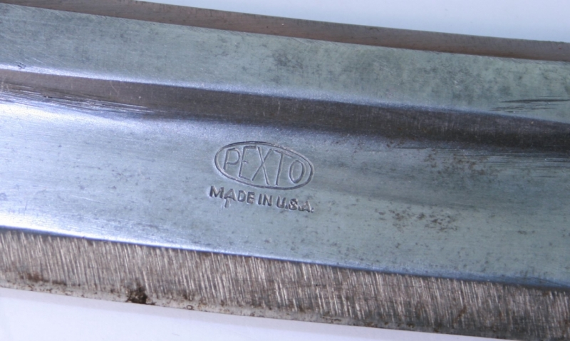 Vintage Knife Drawing Handle Draw Knife 585p