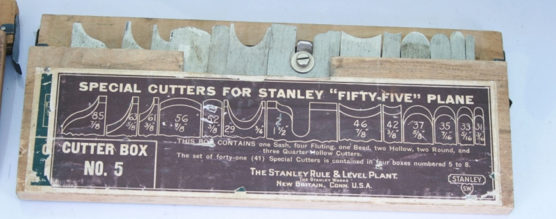 Vintage Tools Stanley No 55 Combination Plane Set Of