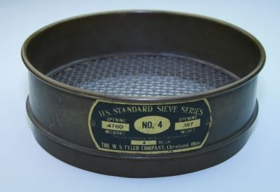 Vintage Tools The W S Tyler Co No 4 Sieve Sold