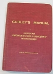 GURLEY MANUAL, AMERICAN ENGINEERS' AND SURVEYORS' INSTRUMENTS