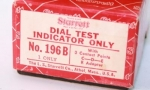STARRETT NO. 196B TEST INDICATOR IOB