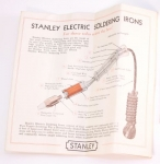 STANLEY NO. 350 ELECTRIC SOLDERING IRON (IOB)- 5A