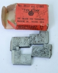 THE TOLEDO PIPE THREADING MACHINE CO. NOS. 11-12,  1/4 INCH DIES- 550D