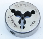 MORSE ADJUSTABLE 1/4-20NC HSS DIE - 550G