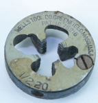 WELLS TOOL CO. 1/2-20 DIE -550R