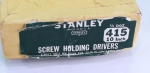 STANLEY NO. 415, 10 INCH, SCREW DRIVERS - 556Y