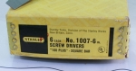STANLEY NO 1007-6 INCH SCREW DRIVERS - 556T