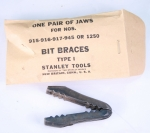 STANLEY REPLACEMENT JAWS FOR 915-916-917- 945 & 1250 BRACES - 556BY SOLD
