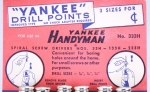 YANKEE HANDYMAN DRILL BIT DISPLAY - 556CL