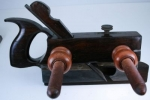AUBURN TOOL CO. NO. 104 HANDLED ROSEWOOD AND BOXWOOD PLOW PLANE