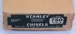 STANLEY N0. 750 3/4 INCH (6) NOS IN THE ORIGINAL BOX- 556BQ