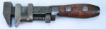 P S & W CO. SOLID BAR PATENTED 6 1/2 INCH WRENCH- 561PD - SOLD