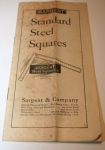 SARGENT & CO. STEEL SQUARE CATALOGUE