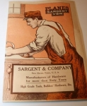 SARGENT & CO. WOOD BOTTOM AND IRON PLANES CATALOGUE  -  SOLD