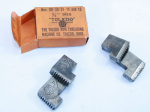 TOLEDO PIPE THREADING MACHINE CO. N0'S 00-30-31-11-12,  3/4 INCH DIES.-  550Z    (OUT OF STOCK)