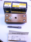 MARPLES 1/2 WOOD SCREW BOX AND TAP NO. 7734   -71A  -SOLD