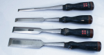 FOUR- STANLEY FOUR SQUARE CHISELS  - 714C  - SOLD