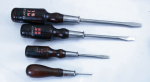 FOUR- STANLEY FOUR SQUARE SCREW DRIVERS - 714B  - SOLD