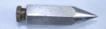 UNMARKED PLUMB BOB, 5 OZ. , 3 1/4 INCHES LONG - 738T