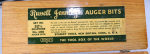 STANLEY/RUSSELL JENNINGS 32 1/2 AUGER BIT SET -   816A   -SOLD