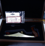 BRIDGE CITY TOOL WORKS CT-11 2003 COMMEMORATIVE LOW ANGLE SMOOTH PLANE WITH THE WALNUT PRESENTATION BOX.  -495F   -SOLD