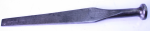 J. STORTZ SPIKE IRON, 8 3/4 INCHES LONG X 1/2 WIDE AT THE TIP AND IS 1/8 INCH THICK- 868J